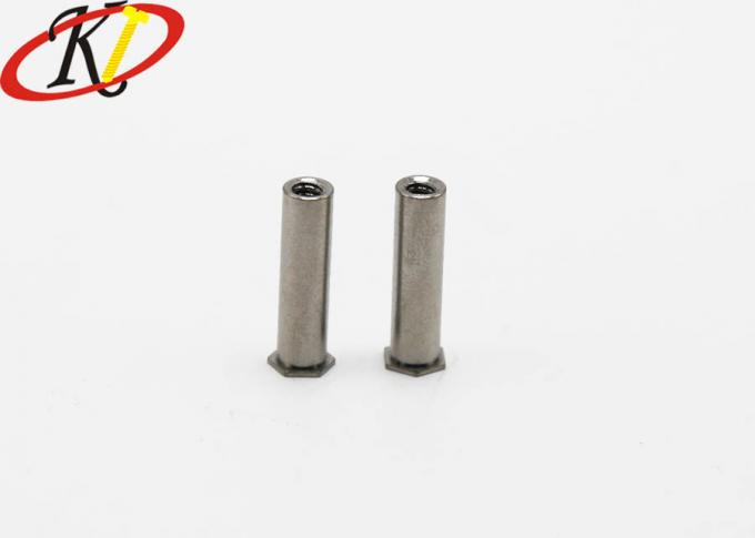 Stainless Steel Small Electrical Screws Self Clinching Standoffs Hex Thin Head Style
