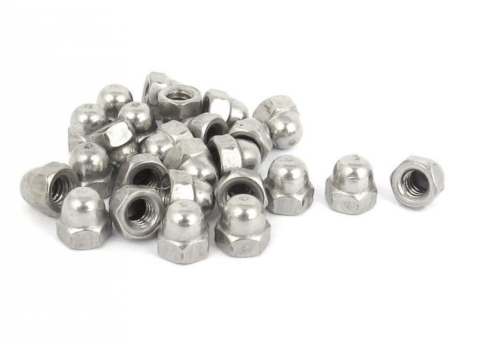Stainless Steel High Crown Acorn Nuts / Domed Cap Nut Stainless Steel Acorn Nuts