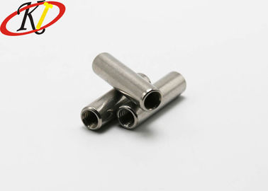China A2-70 Grade Small Electrical Screws Female Threaded Round Standoffs M5-0.8 supplier