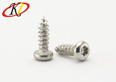 China Pin - In - Torx Pan Head Stainless Steel Self Tapping Screws With Sharp Point supplier