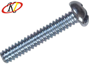 China Plain Finish Steel Machine Screws Stainless Phillips Drive With Pan Head supplier