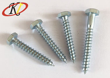 China Carbon Steel Blue Zinc Hex Head Self Tapping Screw supplier