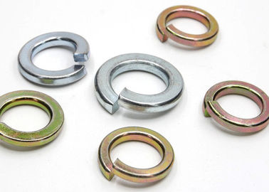 China DIN 127 Standard Stainless Steel Washers Split Lock Washer M8 Anti Corrosion supplier