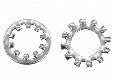 China Zinc Plated High Strength Serrated Lock Washers Metal Toothed Lock Washers with External Teeth supplier