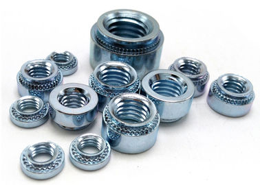 China Zinc Plated Carbon Steel PEM Clinch Nut Self Clinching Nuts,Small Electrical Screw supplier