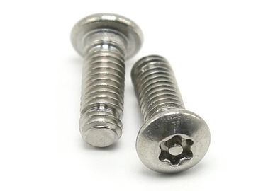 China Small Size Tamper Proof Torx Screws / Pan Head Pin in Torx Security Screws supplier