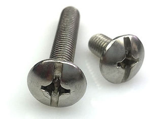 China Durable Flat Type Steel Machine Screws Fasteners Truss Head Non - Standard supplier
