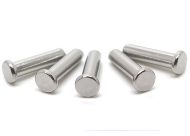 China Hardware Fasteners Steel Rivet Nuts Flat Head Steel Rivets With Nominal Diameters supplier