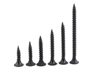 China Black Stainless Steel Wood Screws Construction Wood Screws For Gypsum Board supplier