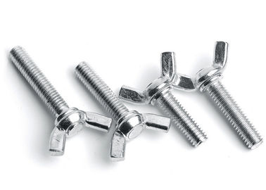 China A2-70 Grade 304 Stainless Steel Bolts Wing Nut Screw Bolt Plain Finish supplier