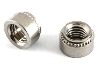 China Reusable Small Electrical Screws Stainless Steel Clinch Nuts CLS / CLSS Types supplier