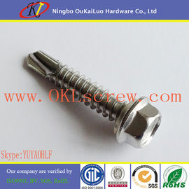 Stainless Steel Hex Washer Head Self Drilling Screws
