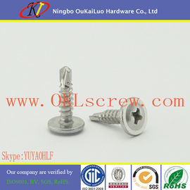 Stainless Steel Phillips Wafer Head Self Drilling Screws