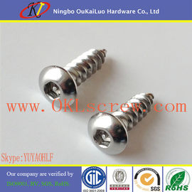 18-8 Stainless Steel Button Head Pin in Hex Security Screws