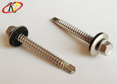 Hex Head with EPDM Washer Stainless Steel Self Drilling Roofing Screws