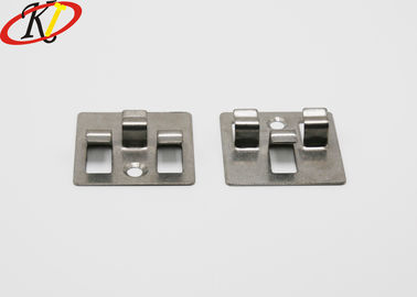 304 Stainless Steel Customized Parts Composite Decking Clips For WPC Wooden Deck