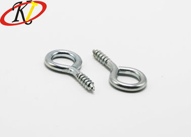Silver Color Stainless Steel Eye Lag Screw / Lag Screw Eye Bolt For Wood