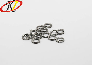 18-8 Stainless Steel Washers , Spring Lock Washer 3/8 Inch Plain Finish