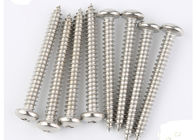 Stainless steel/zinc plated self tapping screw square drive pan head