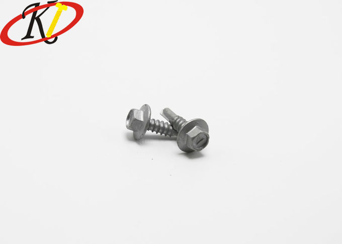 DIN 7504K Hex Washer Screw Self Drilling Sheet Metal Screws With Washers