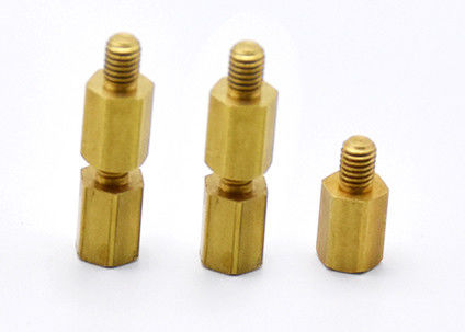 12L15 Material Male Female Threaded Hex Standoffs OEM / ODM Available