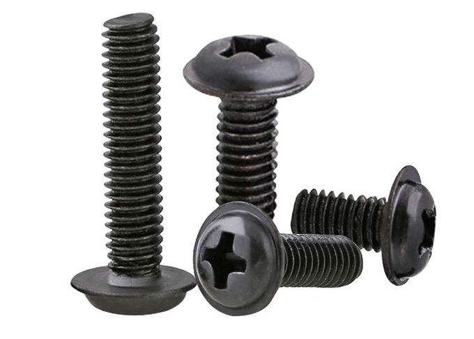 Philips Stainless Steel Machine Screws With Washer Pan Washer Head