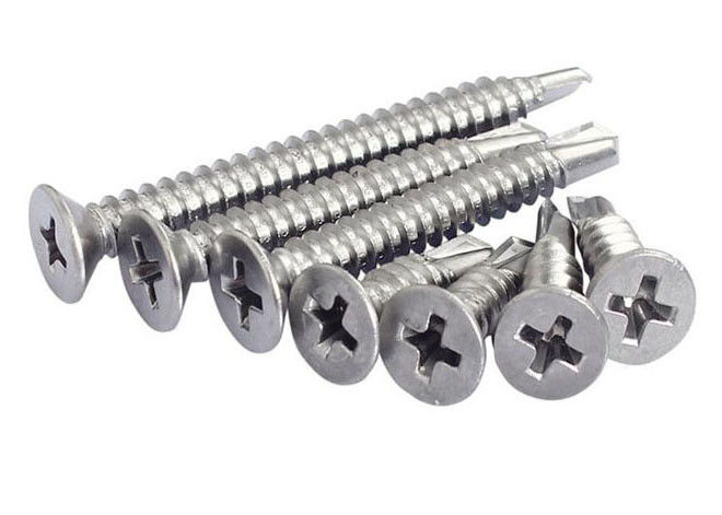 Self Drilling Fasteners Phillips Self Drilling Screws Countersunk Head