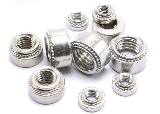 Reusable Small Electrical Screws Stainless Steel Clinch Nuts CLS / CLSS Types